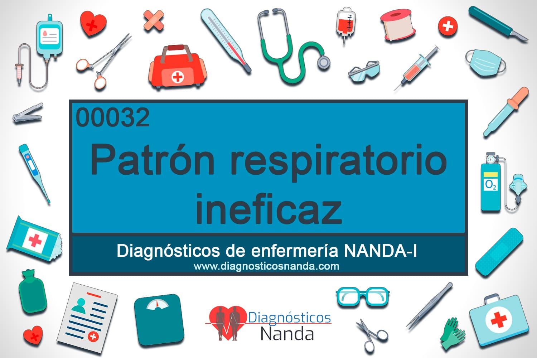 00032 Patrón respiratorio ineficaz