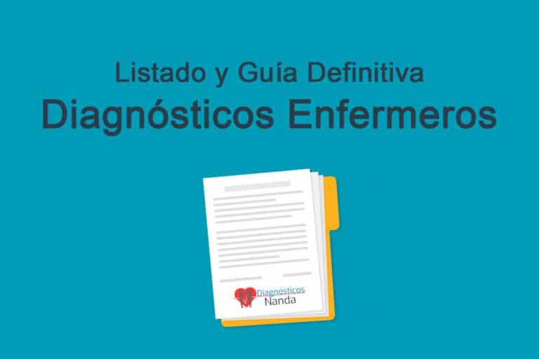 Listado y Guía Definitiva Diagnósticos Enfermeros NANDA-I